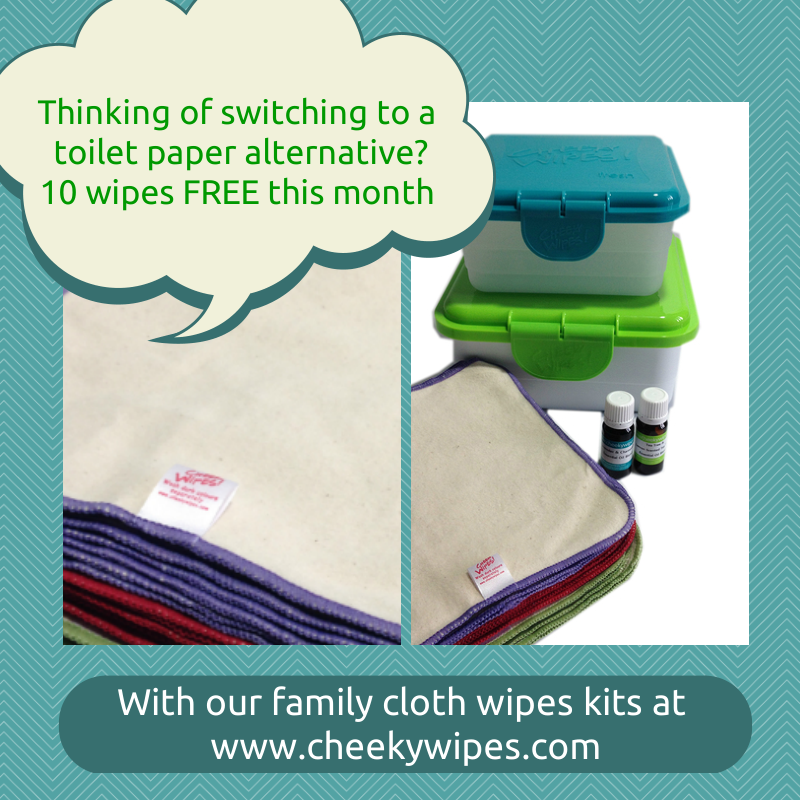 Cheeky Wipes Special Offer June 2014