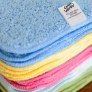 ORGANIC Rainbow Premium Cotton Terry Cloth Washable Baby Wipes
