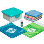 Cheeky Baby Wipes MICROFIBRE Hands & Faces Kit