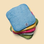 Washable PREMIUM Cloth Cotton Terry Baby Wipes - RAINBOW Pack