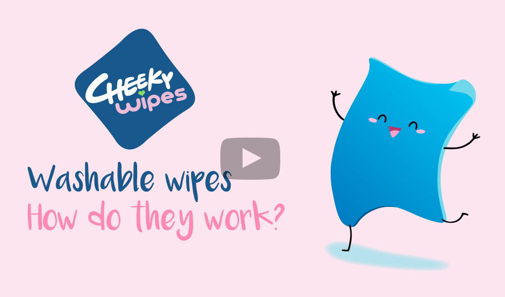 How Washable Wipes Work video