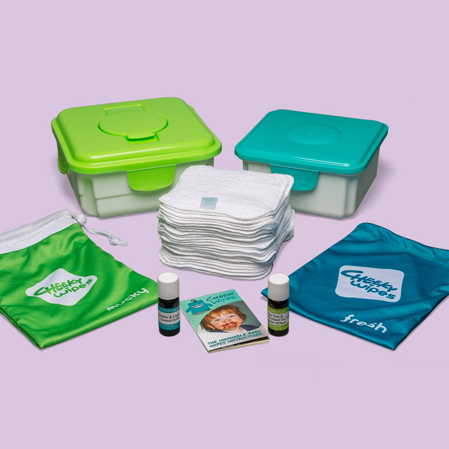Reusable Wipes Kits