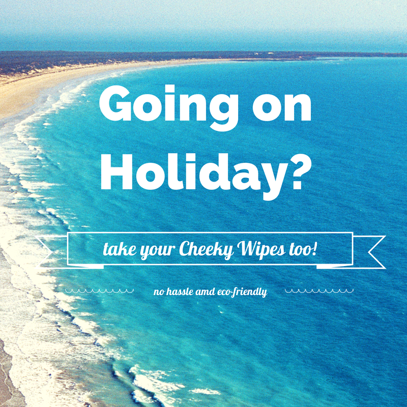 Going On Holiday Make It Easy To Take Your Cheeky Wipes