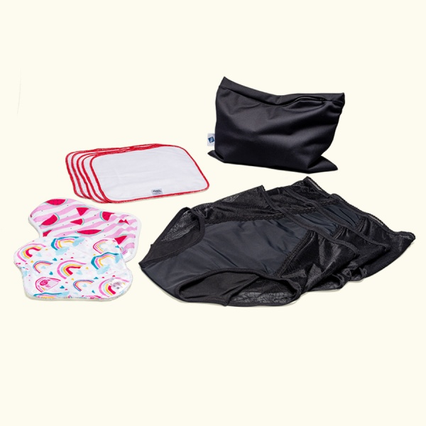 Keep it Simple Reusable Period Protection Starter Kit (Kiss) Comfy Style