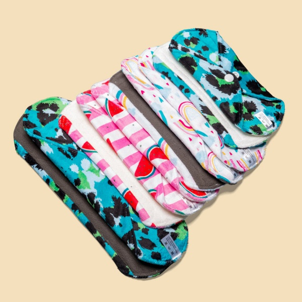 Cheeky Pants Cloth Period Pads 10 MULTI-PACK - Minky - Mixed Use