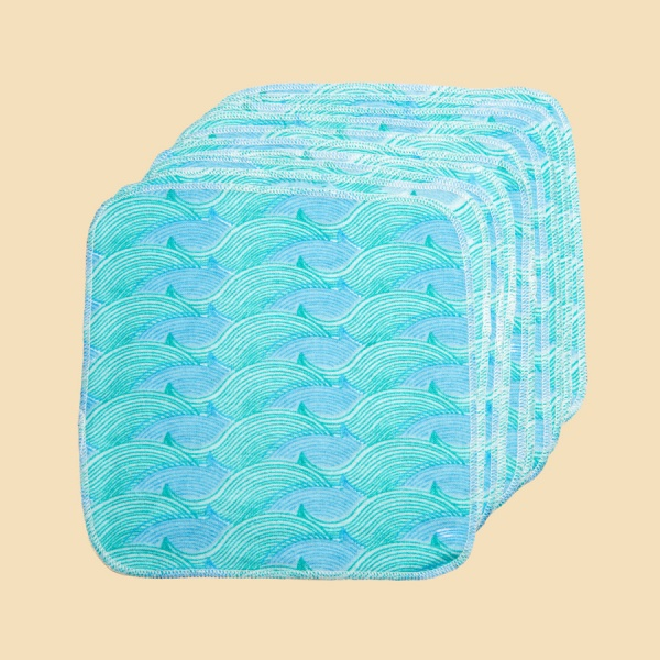 City to Sea 25 Cotton Flannel Wipes
