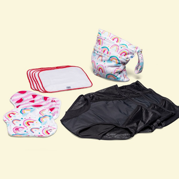 Keep it Simple Reusable Period Protection Starter Kit (Kiss) Fearless