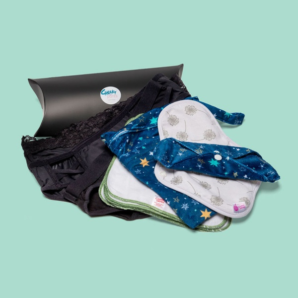 Keep it Simple Reusable Period Protection Starter Kit (Kiss)