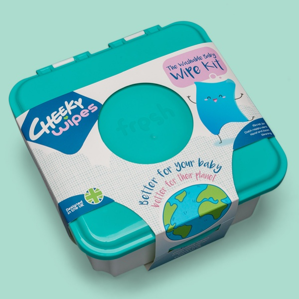 Cheeky Baby Wipes Hands & Faces PREMIUM WIPES WEANING Kit