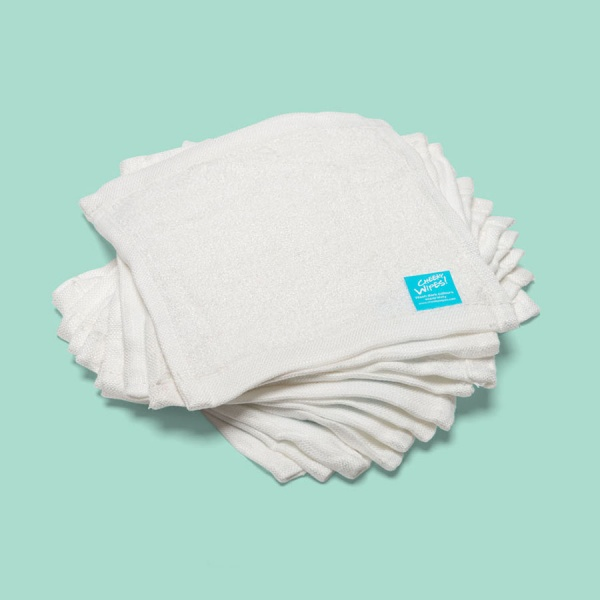 Washable Cloth Bamboo Terry Baby Wipes