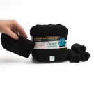 Black Washable Cloth Bamboo Terry Baby Wipes