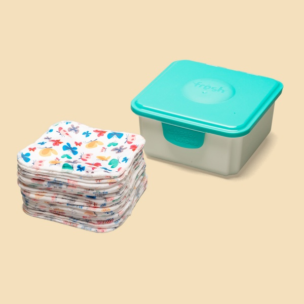 Cheeky Baby Wipes Hands & Faces Luxury WIPES WEANING Kit